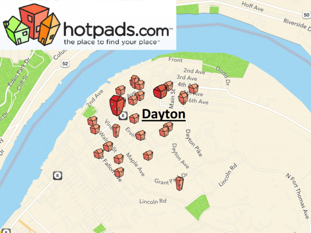 Click to view Hotpads real estate listings in Dayton, KY.