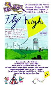 2016 kite fest poster