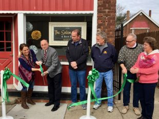 Salon Shop Ribbon Cutting - Dayton, KY