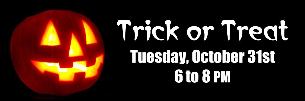 Dayton's Trick or Treat: Tuesday, October 31st, 6 - 8 PM