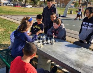 Chess Table Ribbon Cutting - 15 of 15