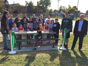 Chess Table Ribbon Cutting - 3 of 15